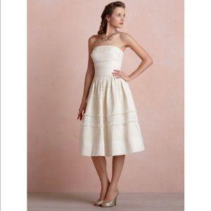 Hitherto Fondant Tea Dress in Buttercream